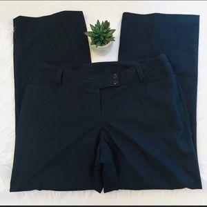 Lane Bryant Navy Pin Stripe Dress Pants size 16